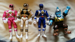 Vintage Original 8 Inch Mighty Morphin Power Rangers Figures Bandai 1993 1994 - <span itemprop=availableAtOrFrom>Shoreham-by-Sea, United Kingdom</span> - Vintage Original 8 Inch Mighty Morphin Power Rangers Figures Bandai 1993 1994 - Shoreham-by-Sea, United Kingdom