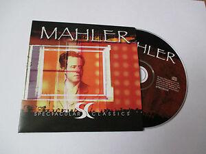CD-Serie-Spectaculars-Classics-Mahler-pochette-cartonnee
