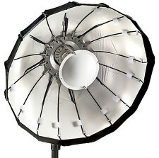 80cm Folding beauty dish, white, Lencarta/Bowens fitting