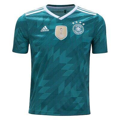 Guaranteed Authentic New Germany Adidas Kids Boy's 2018 Away Jersey, Small | eBay