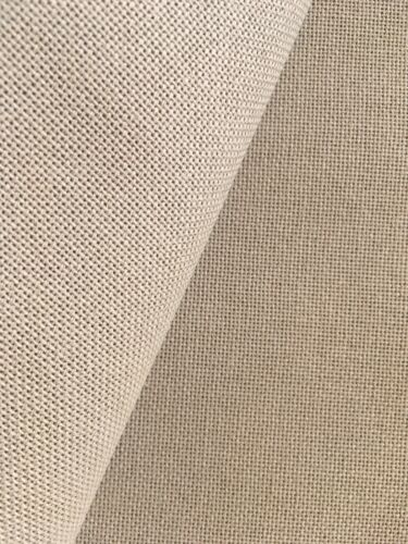 Sand Linda 27 Count Zweigart even weave fabric various size options