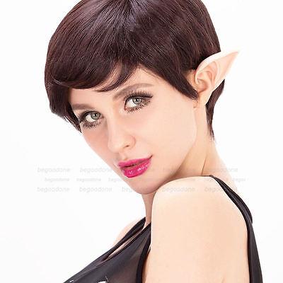 Elf Fairy Vulcan Alien Cosplay Halloween Costume Spock Hobbit Pixie Ear Tips UK
