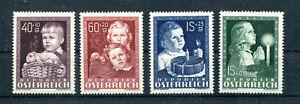 Osterreich-Michel-Nr-929-32-oder-ANK-Nr-941-944-Glueckliche-Kindheit