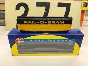 Athearn-HO-Scale-ATSF-Rail-O-Gram-SF-SP-Railway-Merger-PD-Boxcar-RTR-New
