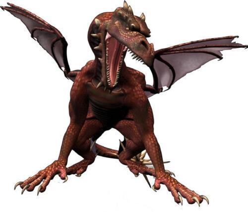 Sticker enfant Dragon 120x100cm