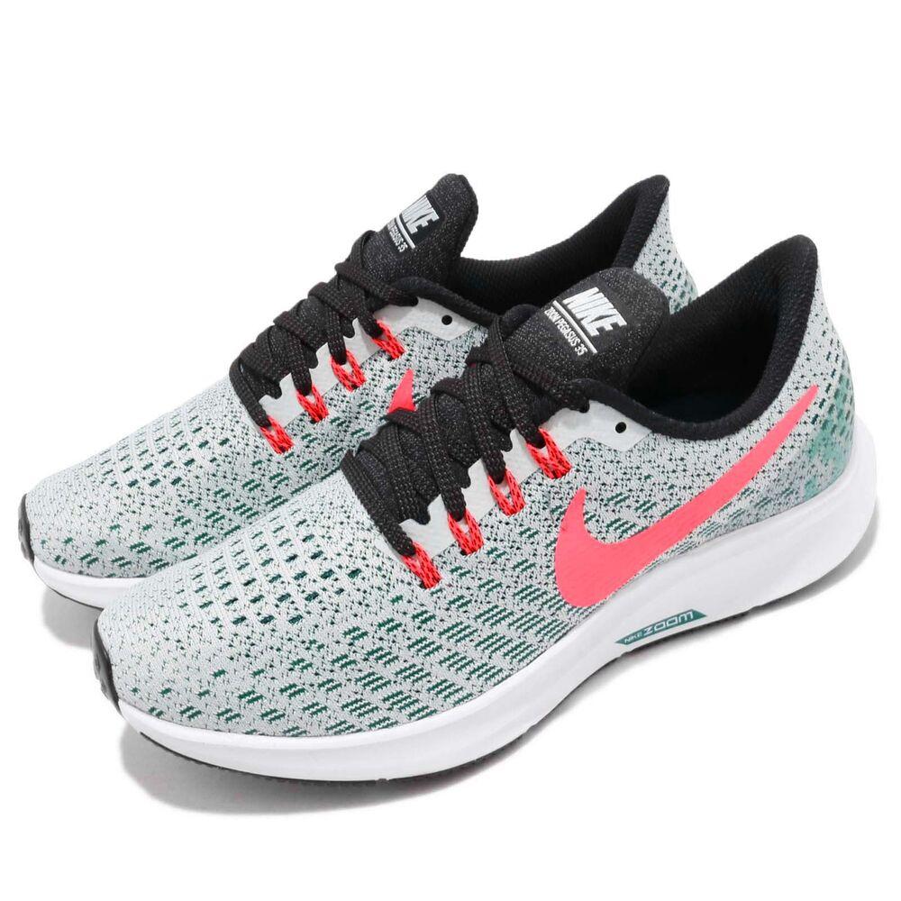 Nike Wmns Air Zoom Pegasus 35 Barely Grey Hot Punch Women Chaussures 942855-009 Chaussures de sport pour hommes et femmes