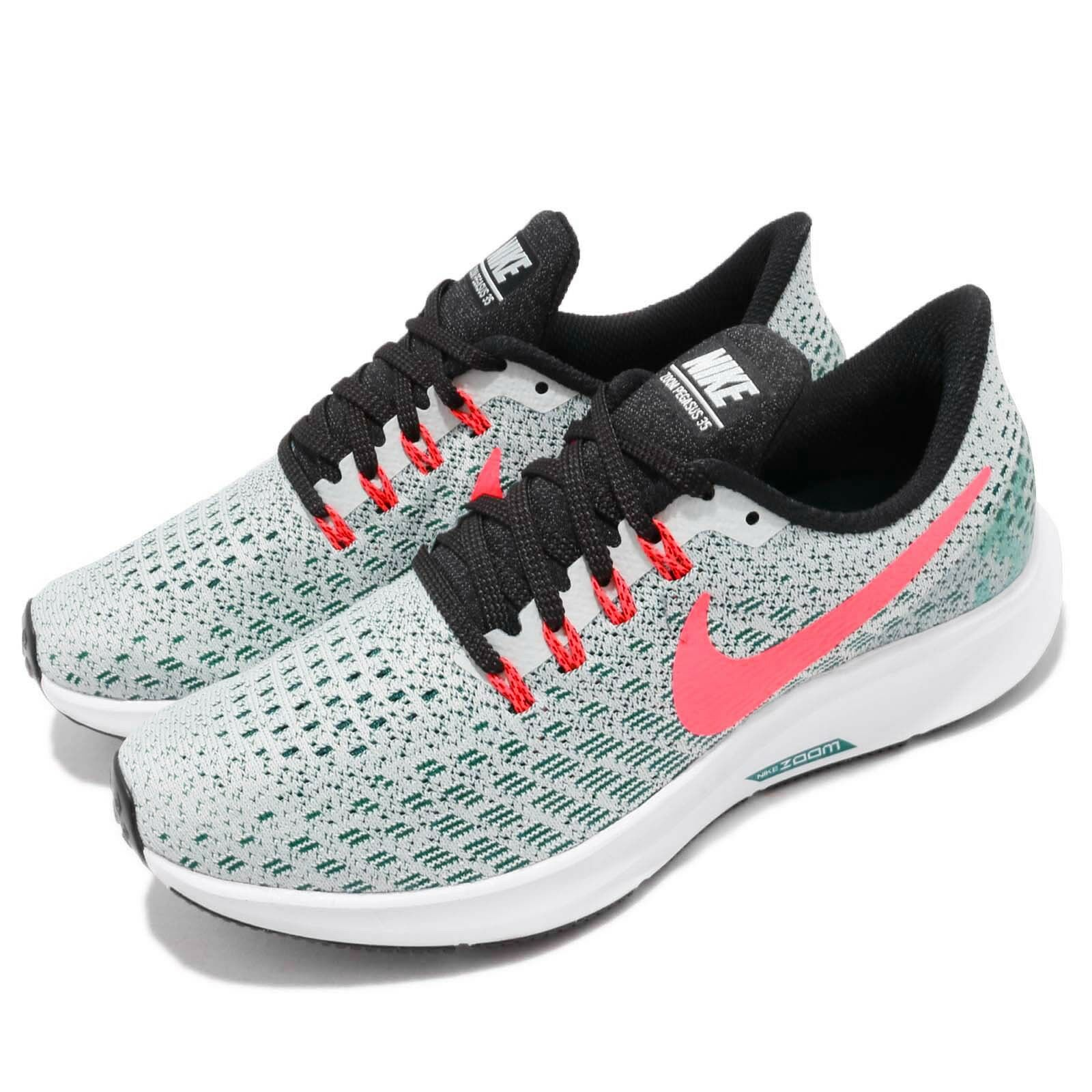 Nike Wmns Air Zoom Pegasus 35 Barely Gris Hot Punch femmes Chaussures 942855-009