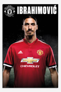 Manchester-United-Zlatan-Ibrahimovic-2017-18-Poster-New-Maxi-Size-36-x-24-Inch