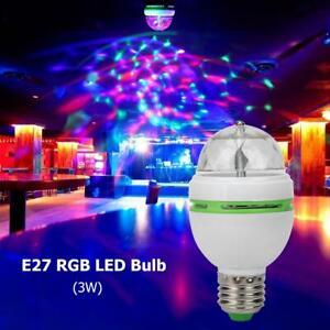 E27-3W-RGB-LED-lampadina-sfera-magica-di-cristallo-rotante-fase-partito-KTV-DJ-Discoteca-Luci