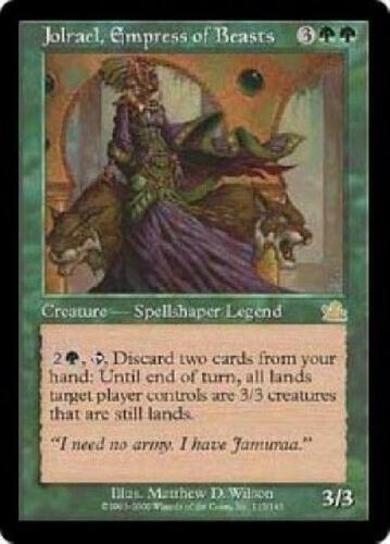 Jolrael Empress of Beasts PL MTG Prophecy Magic 2B3