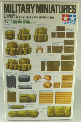 Tamiya 1//35 scale US Modern Infantry Equipment