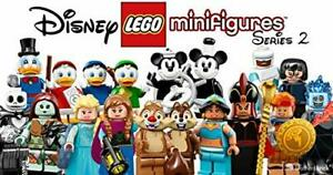 Lego-Disney-Series-2-Minifigures-Mickey-Elsa-Nightmare-Jack-Dewey-71024-You-Pick
