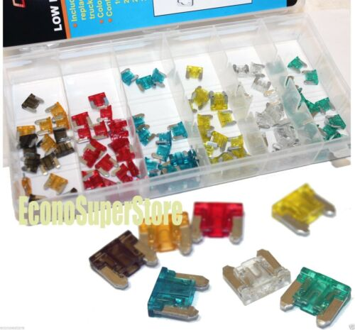 240PC Low Profile Assorted Color Coded Car Fuse Trucks SUV/'S Auto Fuses