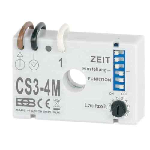 Zeitschalter 8 Schaltfunktionen für Ventilatoren und Beleuchtung CS3-4M