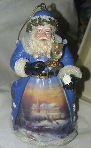 Thomas Kinkade Old World Santa Ornament Collection ...