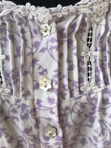 eileen west nightgown Sz L
