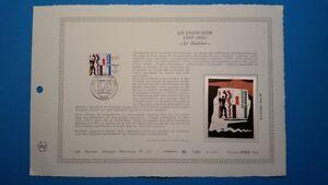 FRANCE-DOCUMENT-ARTISTIQUE-YVERT-2470-LE-CORBUSIER-ARCHITECTE-PARIS-1987-L537