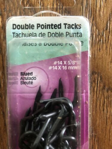 """Hillman #14 DOUBLE POINTED TACKS 5//8/""""  Easy Install  122656"""