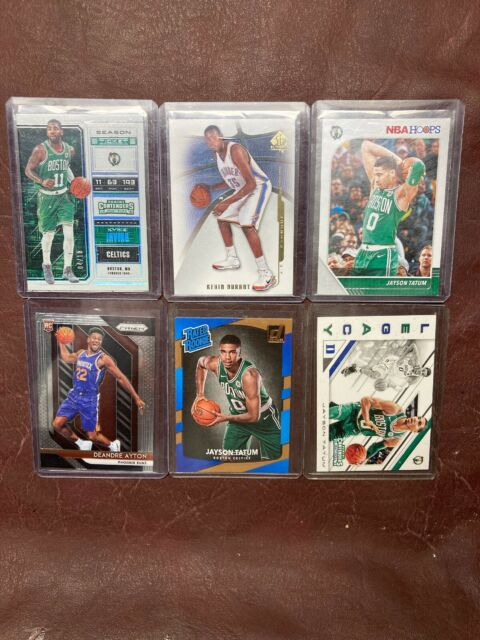Great Basketball Lot (6), Tatum(3) Rookie, Ayton Prizm, Durant SP, Kyrie