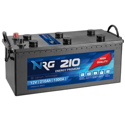 1300A//EN Starterbatterie Heavy Duty ersetzt 200Ah 220Ah LKW Batterie 210Ah