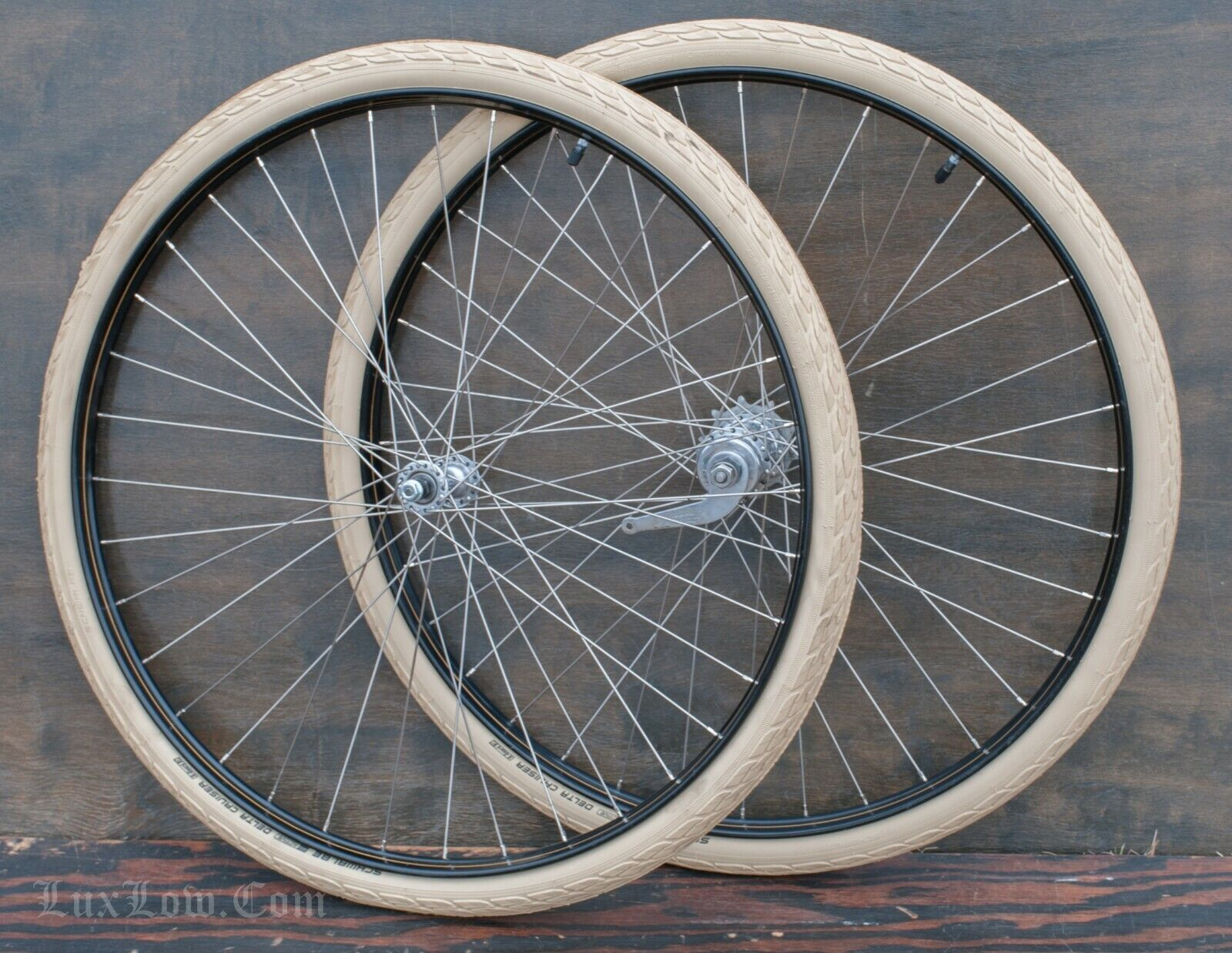 28  TOC Bicycle  WHEELS Vintage Morrow Hub Tires Raleigh Schwinn Wood Rim Bike 29  hot