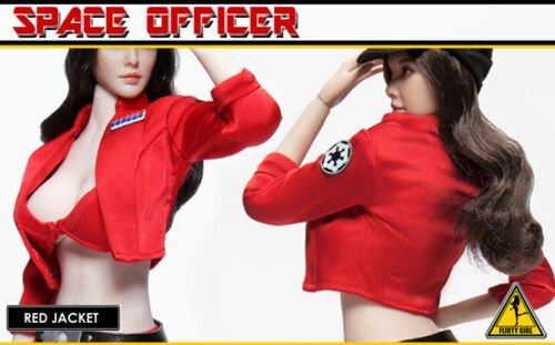 1//6 Scale Female Flirty Girl Space Officer PARTS USA Jiaoudol PHICEN Star Wars