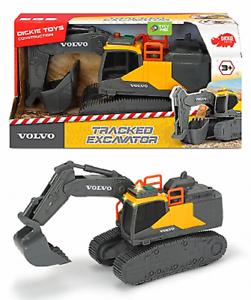 Dickie-203723005-Construction-Volvo-Tracked-Excavador-Nuevo