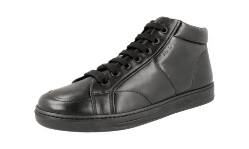 Scarpe 43 High 43 4t2914 Nero Nuove top Prada Sneaker 5 9 Lusso rrzxAfSn
