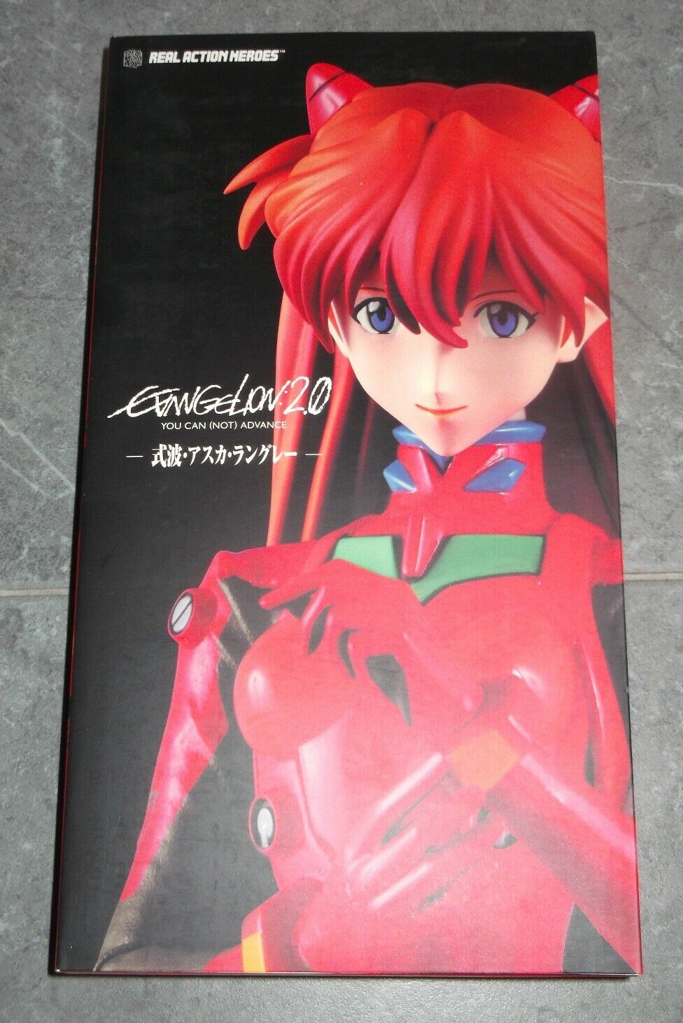 Medicom RAH ASUKA LANGLEY SHIKINAMI 1 6 Real Action Heroes Figure Evangelion 2.0