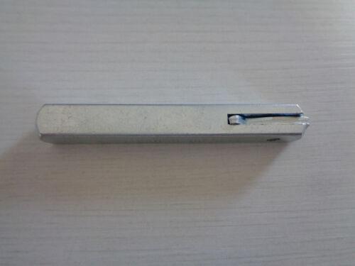 Garnituren Vierkantstift 9 mm für EST mit Federrückstellung für Brandschutz