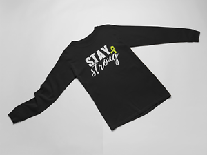 Long-Sleeve-Stay-Strong-T-Shirt-Mental-Health-Anxiety-Depression-Awareness-Tee