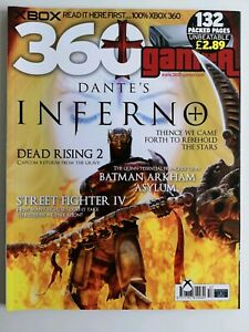 360 Gamer Xbox Magazine Issue 57 Dante's inferno Cover - As New