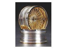 Pegasus Hobbies 1/10 On Road Gold Wire 26mm Wheel Rims (2) #3002 OZ RC Models