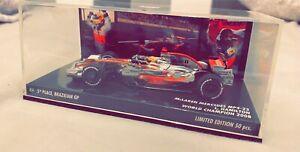 MINICHAMPS 1/43 Lewis Hamilton World Champion 2008 Limited Edition 50 pcs seulement