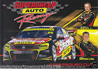 Russell Ingall & Ryan Briscoe Driver Signing Card poster V8 Supercars Bathurst