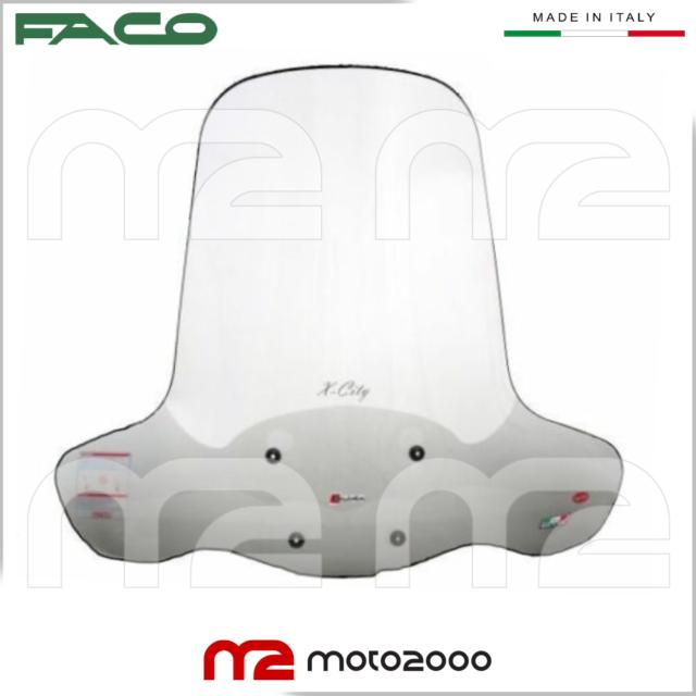 2000 FACO Parabrezza con bulloneria Yamaha Majesty 250