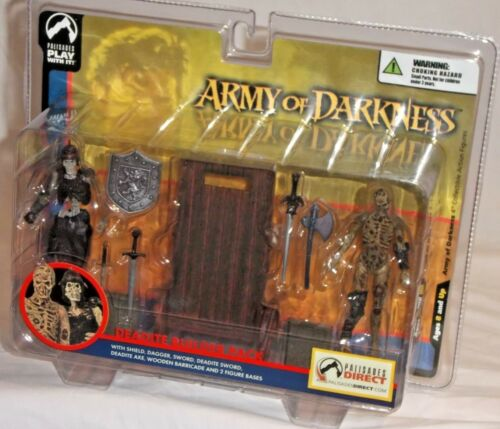 PALISADES DIRECT Exclusive Army Darkness DEADITE SCOUT BUILDER actionfigure PACK
