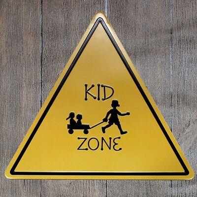 Metal Tin Sign danger shark zone Bar Pub Home Vintage Retro Poster Cafe ART