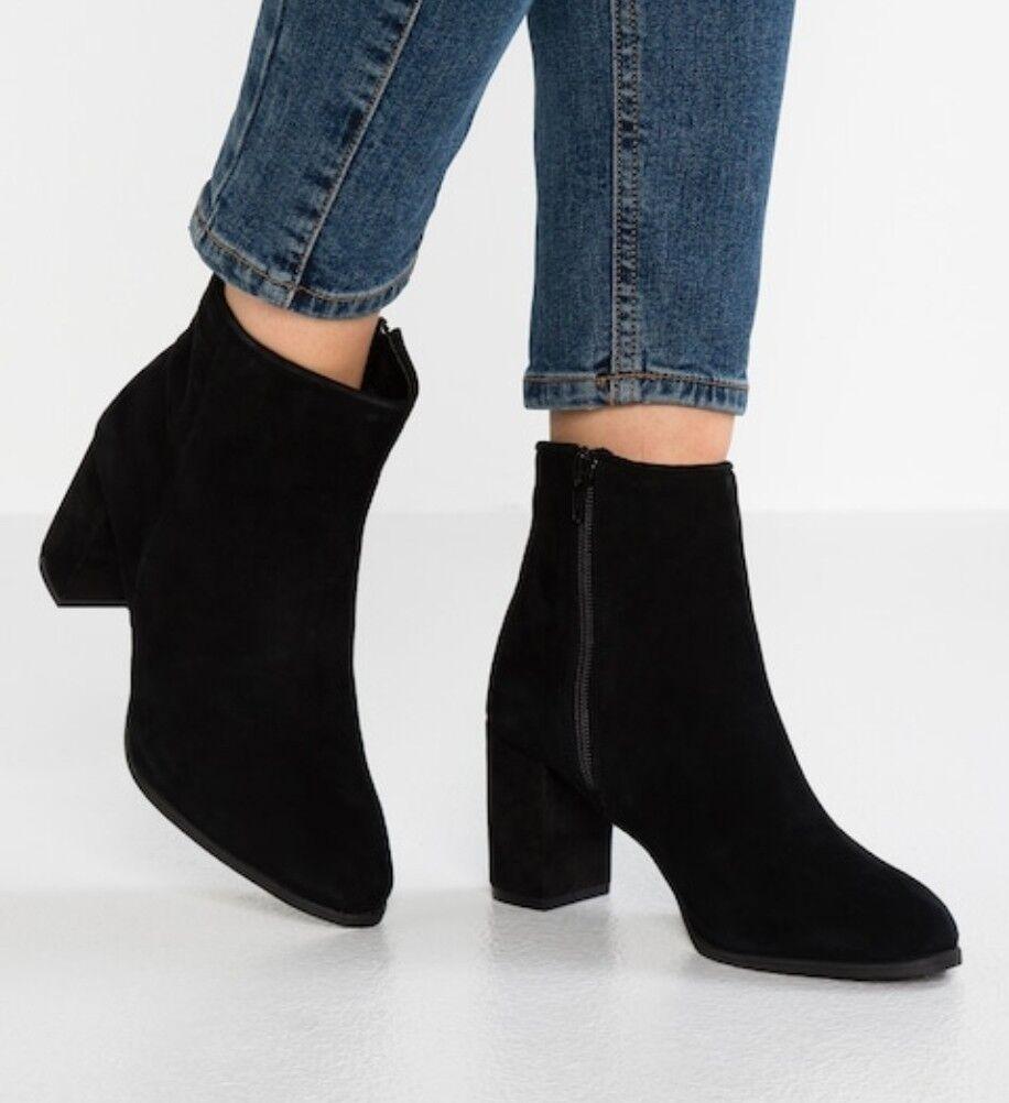 Anna campo Gamuza Gamuza Gamuza botas al tobillo con cremallera lateral talla EU 38  tienda de descuento