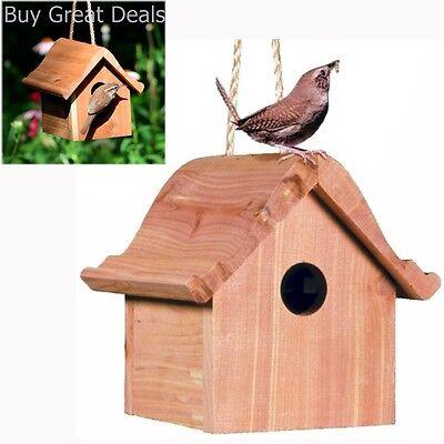 Large Bearded Old Man Cedar Birdhouse with Flush Mount Hardware Santa Claus Birdhouse Cedar Bird Feeder Yard Art wooden birdhouse