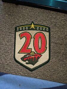 Minnesota Wild 20th Anniversary Patch