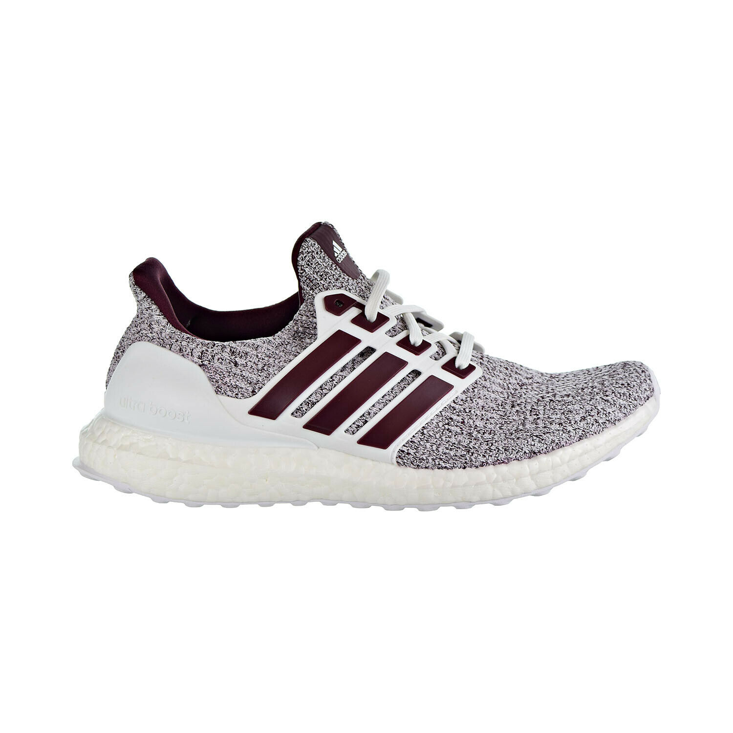 Adidas Ultraboost Men's shoes Cloud White Maroon EE3705