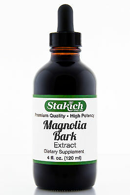 4 oz Magnolia Bark Extract Top Quality Pure Herbal Tincture Wild Crafted