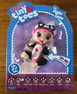 Teenie Tiny Toes gigglin Gabby Mini Interactive Doll NEW