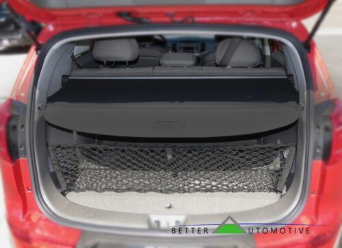 Cargo Cover Black Retractable Trunk Shielding Cover For 2010-2013 Kia Sportage