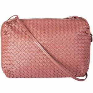 c660c637579c Image is loading 54868-auth-BOTTEGA-VENETA-pink-Intrecciato-leather-NODINI-