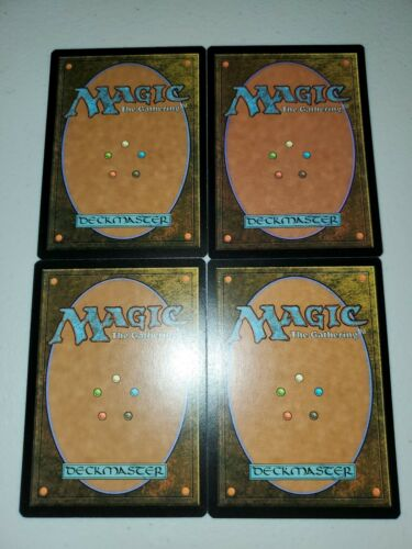 MTG 4x Elvish Visionary Moderate Play