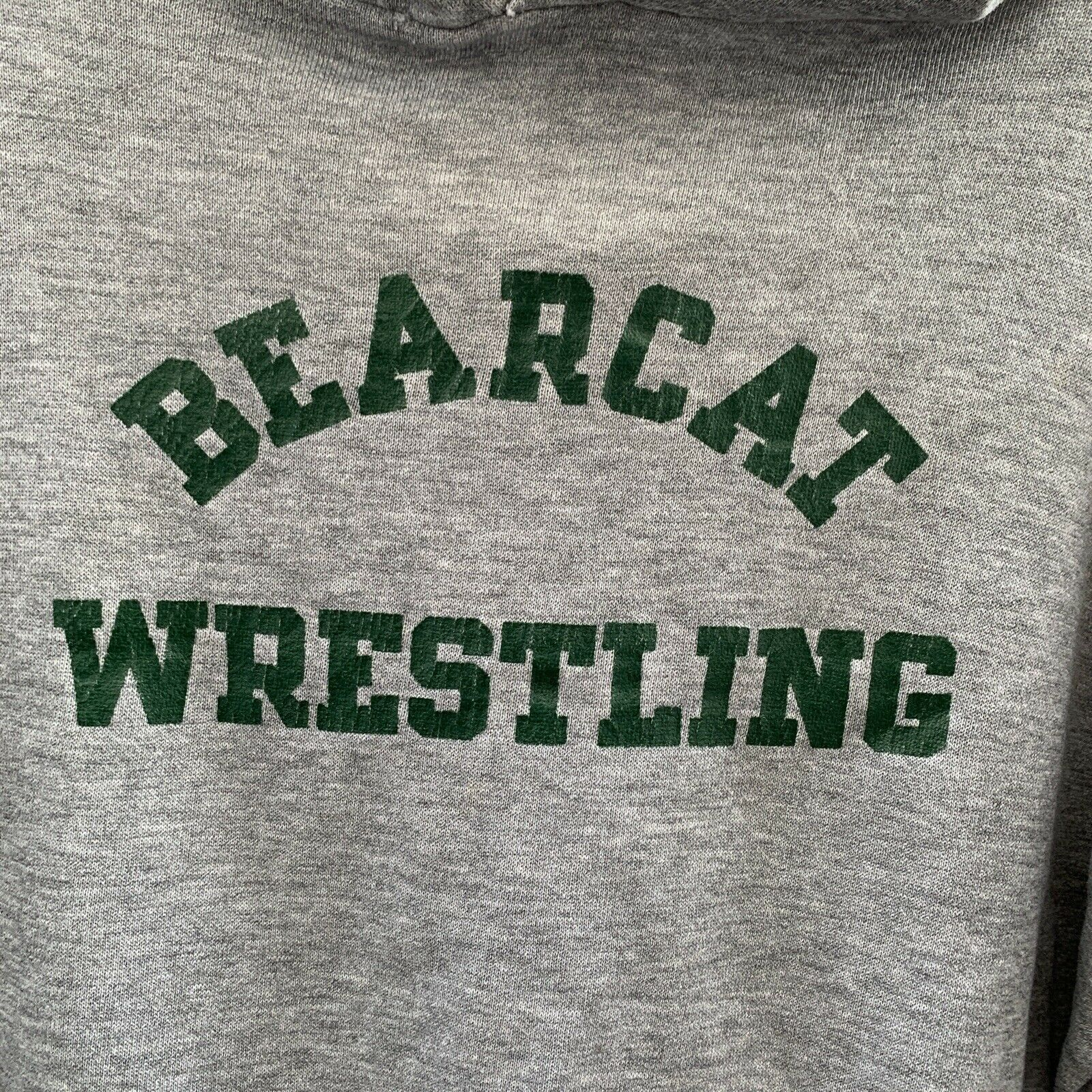 Vintage 70s Bearcat Wrestling By Russell Athletic… - image 2