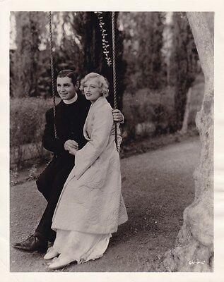 CLARK GABLE MARION DAVIES Original CANDID Studio Set Vintage 1932 MGM Photo