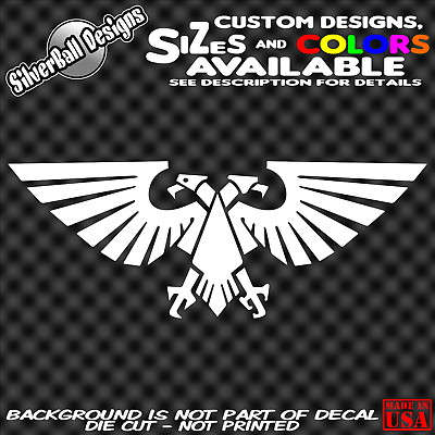 Space Wolves Custom Vinyl Decal Sticker car truck window Warhammer 40K d/&d
